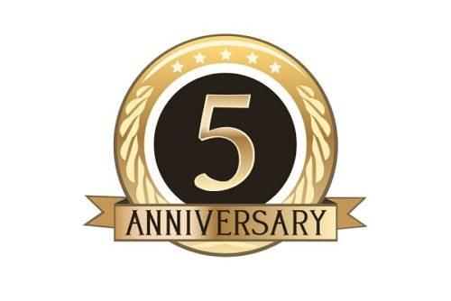 ブログが5周年になりました!5年経過して僕が思うこと